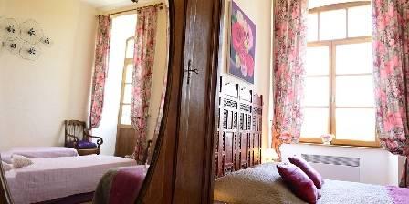La Bastide d'Aguyane Chambre Bois de Rose