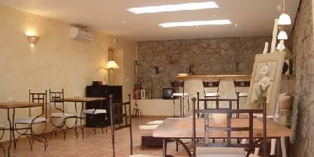 La Bastide de Font-Clarette Salon d'été