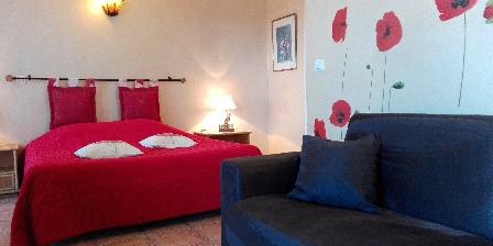 Chambre d'hotes La Bastide de la Brague > La chambre Coquelicot