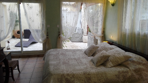 bed & breakfast Alpes Maritimes - bamboo room