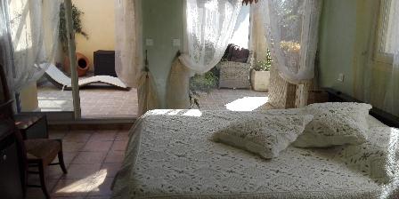 Chambre d'hotes La Bastide de la Brague > Chambre Bambou