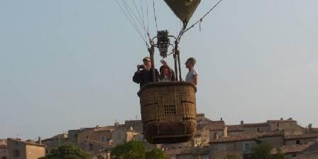 La Bergerie du Luberon Les vols en montgolfière