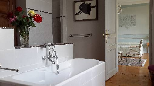 Salle de bains Louis XVI
