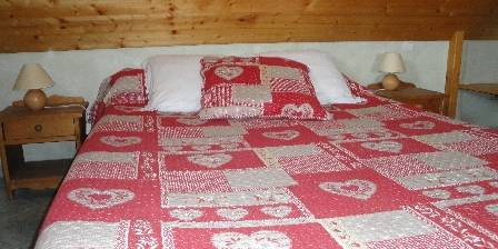 Chambre d'hotes La Ferme de Chateau-Vieux > chambre Parmelan > Cliquez ici pour agrandir cette photo
