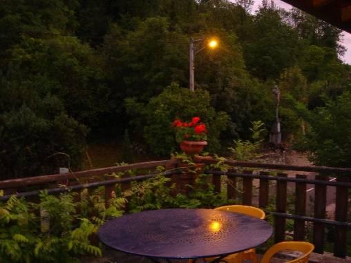 Chambre d'hote Ain - La terrasse et sa vue