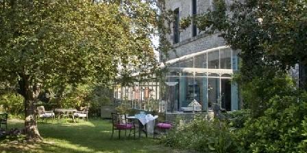 La Guérandière Le jardin et la verriere