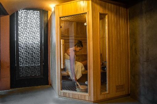 sauna la Guérandière
