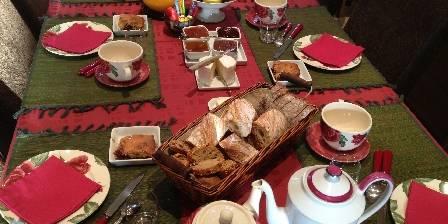A La Métairie Petit-déjeuner savoureux