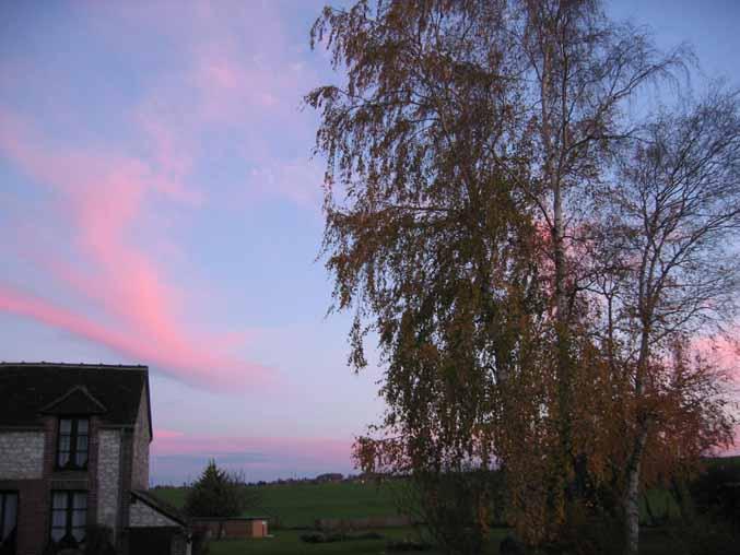 lever de soleil d'automne