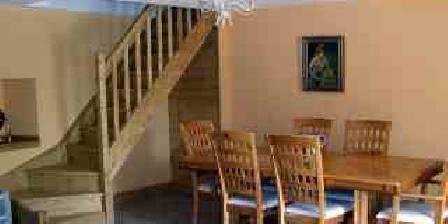 La Vigne Salle à manger et escalier privé