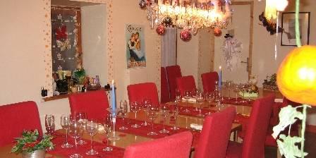 La Salière La salle à manger à Halloween