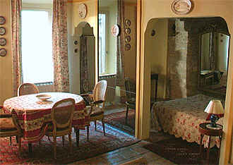 Chambre d'hote Vaucluse - Suite du premier niveau