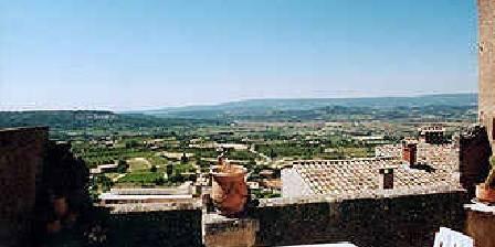 La Sembletour Vue de la terrasse privée