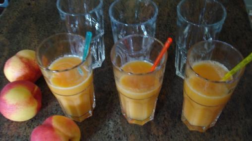 Chambre d'hote Aveyron - jus de fruits frais