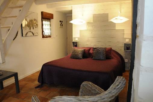 chambre Saumur en rez de chaussée