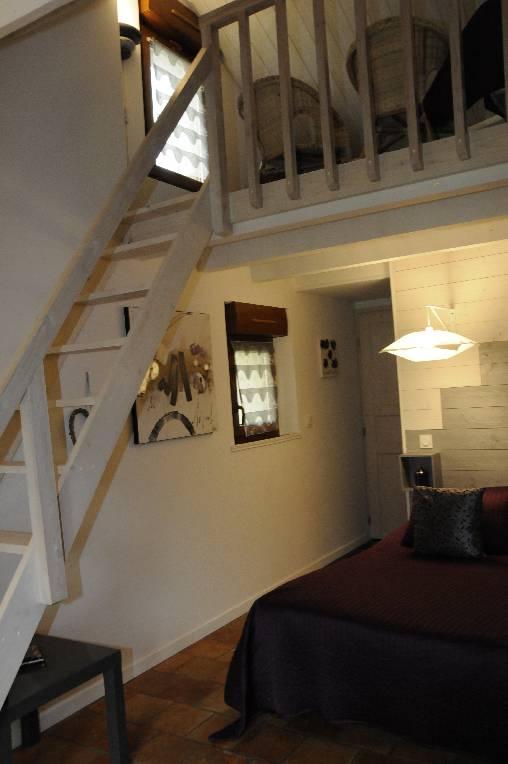 Mezzanine chambre Saumur