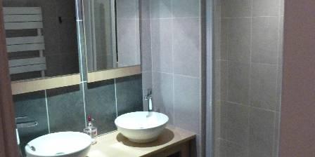 La Thibaudière Salle de bain chambre Saumur