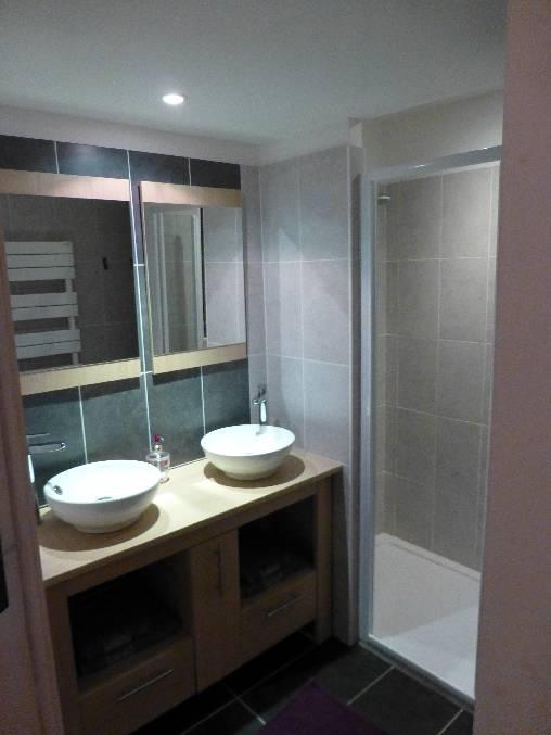 salle de bain chambre Saumur