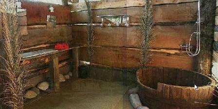 La Villa Santa Fé La salle de bain de la caravane