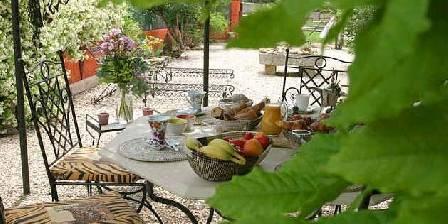 La Villa Santa Fé Le petit déjeuner