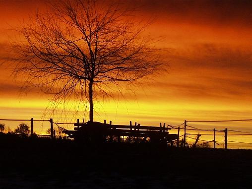 lever de soleil au Petit Labouret