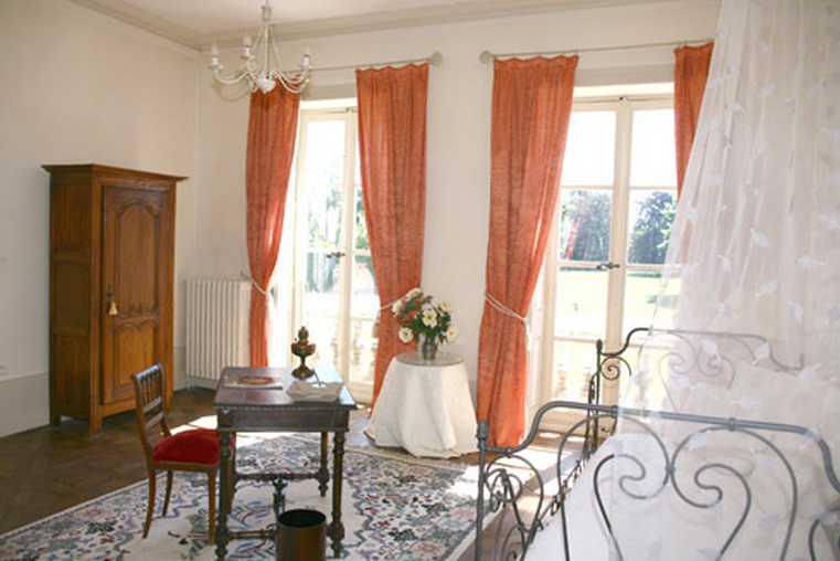 Chambre d'hote Côte-d'Or - Salon et 2eme lit suite Le Nôtre