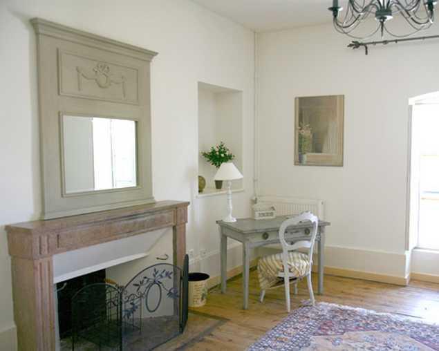 Chambre d'hote Côte-d'Or - Salon de la suite Rumilly
