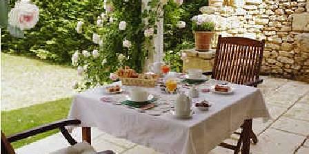 Le Clos Lascazes Petit-déjeuner en terrasse