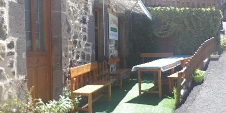 Le Fromentou Terrasse table d'hôtes