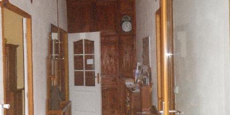 Le Fromentou Hall entrée maison d'hôtes