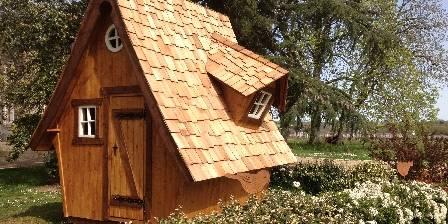 Les gîtes des Gauliers Le drôle d'abri de jardin du Domaine des Gauliers
