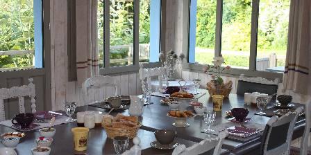 Le Jardin de Coramille La table du petit déjeuner