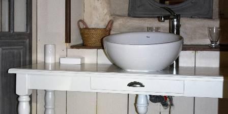 Le Jardin de Coramille Salle d'eau chambre Belle de Jour