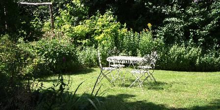 Le Jardin de Coramille Coin détente