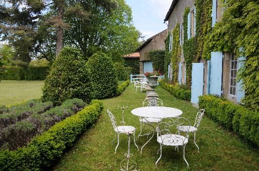 Chambre d'hote Charente - La façade arrière du Logis