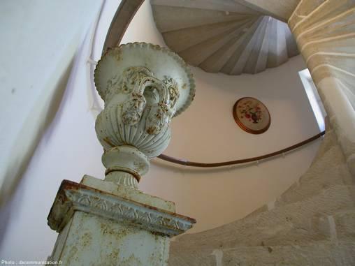 Chambre d'hote Charente - L'escalier du XVème