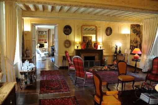 Chambre d'hote Charente - Le salon