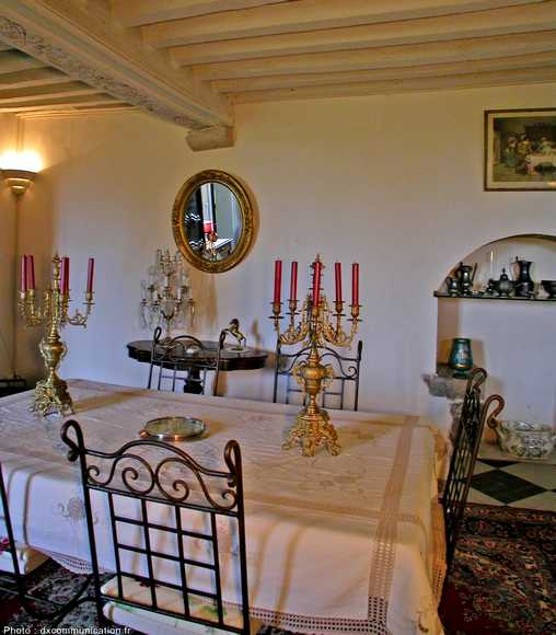 Chambre d'hote Charente - La salle à manger