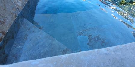 Le mas de Mougins La piscine illuminée