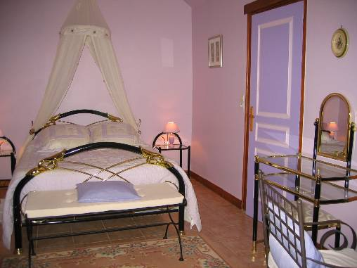 Chambre d'hote Sarthe - Chambre les Violettes