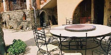 Le Moulin de Champdurand La terrasse
