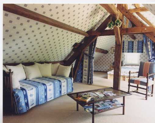 Chambre d'hote Loir-et-Cher - Chambre Goélette - Chambre familiale