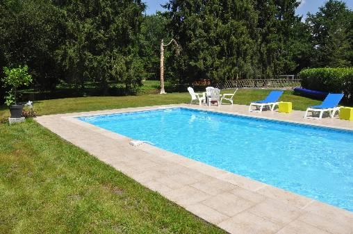 Chambre d'hote Loir-et-Cher - La piscine