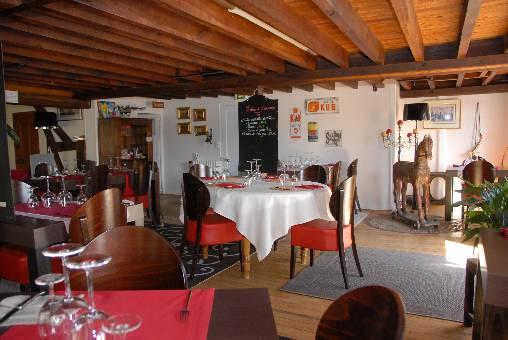 Chambre d'hote Loir-et-Cher - La salle de restaurant
