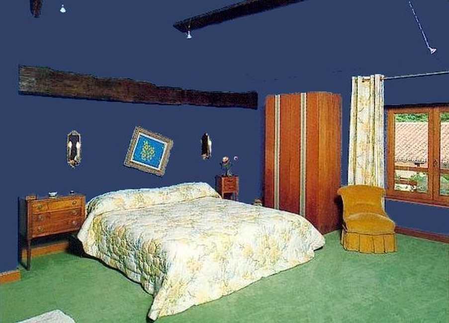 Chambre d'hote Ain - Grande chambre Bleue