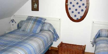 Gite Le Presbytère > La mezzanine de la chambre Jardin
