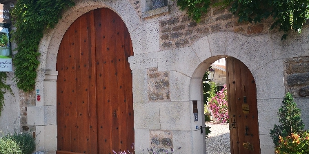 Le Puits d'Athie Le portail d'entrée