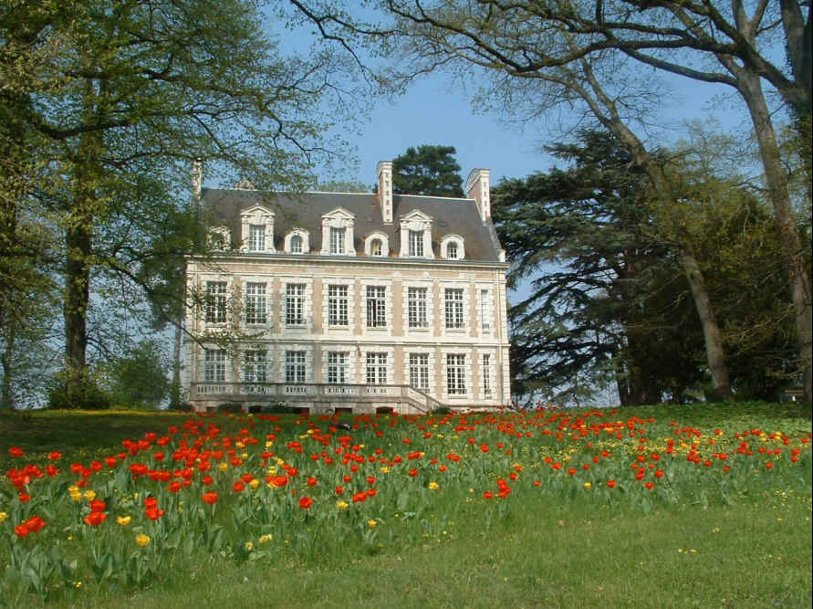 bed & breakfast Indre-et-Loire - The caste at springtime