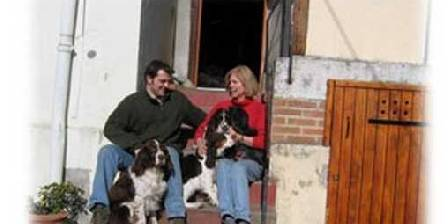 Le Saint Jacques Laurent Kristy et chiens