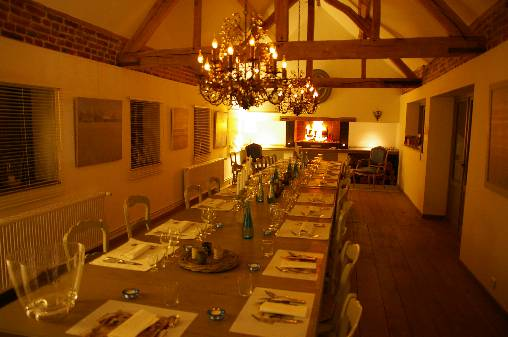 bed & breakfast Somme - La Grande Pièce, the dining room!